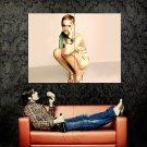 Emma Watson Short Hair Hot Legs Actress Huge 47x35 Print POSTER