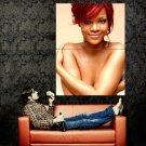 Rihanna Fenty Hot Topless Music Huge 47x35 Print POSTER