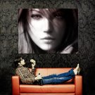 Final Fantasy XIII 13 Lightning Farron Huge 47x35 Print POSTER