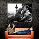 Audrey Hepburn BW Movie Actress Huge 47x35 Print POSTER