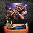 Perfect World Battle Art Mmorpg Game Huge 47x35 Print Poster