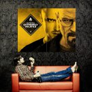 Breaking Bad TV Warning Extremely Volatile Huge 47x35 Print POSTER