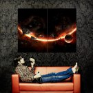 EVE Online Space Planets Video Game Huge 47x35 Print POSTER