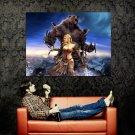Guild Wars Eye Of The North Bear Art MMORPG Huge 47x35 Print POSTER