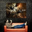EVE Online Space Mining Ships Huge 47x35 Print POSTER