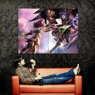 Aion The Tower Of Eternity CG Art Huge 47x35 Print POSTER