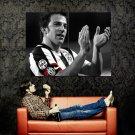 Alessandro Del Piero Juventus Soccer BW Huge 47x35 Print POSTER