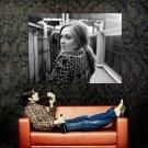 Adele Laurie Blue Adkins Singer Music BW Huge 47x35 Print POSTER