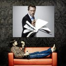 House MD Throw Book Hugh Laurie TV Series Huge 47x35 Print POSTER