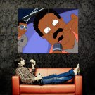 Cleveland Brown Rap Microphone Show TV Series Huge 47x35 Print POSTER