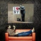 NY Heart Doctor Banksy Graffiti Street Art Huge 47x35 Print POSTER