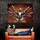 Body Art Eagle Hands Fingers Cool Huge 47x35 Print POSTER