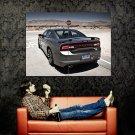 Dodge Charger SRT8 Rear Car Huge 47x35 Print POSTER