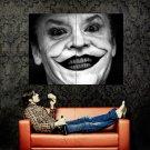 Joker Jack Nicholson Batman BW Movie Huge 47x35 Print POSTER