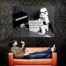 Homeless Stormtrooper Lego Star Wars Sci Fi Huge 47x35 Print POSTER