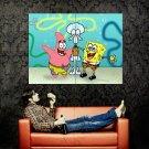 SpongeBob SquarePants Patrick Star Squidward Tentacles Huge 47x35 Print POSTER