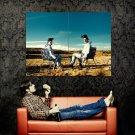 Breaking Bad Desert Chairs TV Show Huge 47x35 Print POSTER