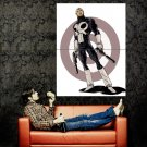 The Punisher Guns Silencers Marvel Comic Art Huge 47x35 Print POSTER
