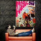 The Who Magic Bus Rock Band Music Huge 47x35 Print POSTER