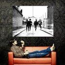 The Beatles Retro BW Rock Band Music Huge 47x35 Print POSTER