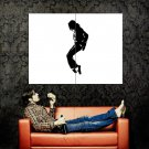 Michael Jackson Silhouette Pop Music Huge 47x35 Print POSTER