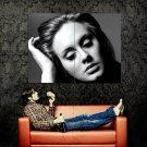 Adele 21 Album Cover BW Singer Music Huge 47x35 Print POSTER