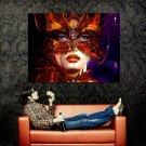 Beautiful Venice Carnival Mask Art Huge 47x35 Print POSTER
