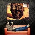 Salvador Dali The Face Of War Abstract Art Huge 47x35 Print POSTER
