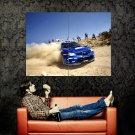 Subaru Impreza WRC Drift Rally Dust Sport Huge 47x35 Print POSTER
