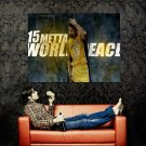 Metta World Peace Ron Artest Lakers NBA Basketball Huge 47x35 POSTER