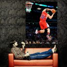 Blake Griffin Slam Dunk Contest Los Angeles Clippers NBA Huge 47x35 POSTER