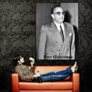 Don Vito Genovese Mobster Mafia Outlaw Criminal Huge 47x35 POSTER