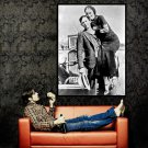 Bonnie And Clyde Original Photo Parker Barrow Outlaw Huge 47x35 POSTER