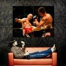 Wanderlei Silva Kick MMA Mixed Martial Arts Huge 47x35 POSTER
