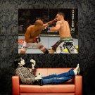 BJ Penn Punch Edgar MMA Mixed Martial Arts Huge 47x35 POSTER