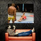 Anderson Silva Vs Patrick Cote Spider MMA Mixed Martial Arts Huge 47x35 POSTER