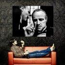 Marlon Brando Godfather Art Legendary Actor BW Huge 47x35 POSTER