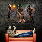 Apocalypto Execution Native American Indians Huge 47x35 POSTER