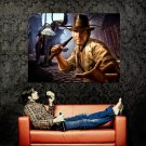 Indiana Jones CG Art Elephant Harrison Ford Movie Huge 47x35 POSTER