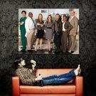 Body Of Proof Megan Hunt Dana Delany Cast TV Series Huge 47x35 POSTER