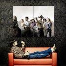 The Walking Dead Revolver Rick Grimes Shane Walsh TV Series Huge 47x35 POSTER