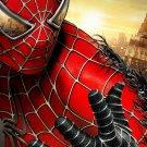 Spider Man Movie Art Dark New York Huge 47x35 Print Poster