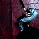 Hatsune Miku Gothic Gas Mask Hot Girl Japanese Cosplay Huge 47x35 Print Poster