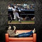 Alex Rodriguez Hitting Baseball MLB Sport Huge 47x35 Print POSTER