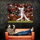 Albert Pujols Cardinals Baseball MLB Huge 47x35 Print POSTER