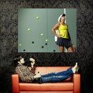 Caroline Wozniacki WTA Tennis Sport Huge 47x35 Print POSTER