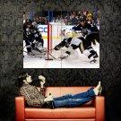 Pittsburgh Penguins Tyler Kennedy NHL Huge 47x35 Print POSTER