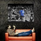 Fernando Torres Chelsea BW Football Huge 47x35 Print POSTER