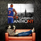 Carmelo Anthony New York Knicks NBA Huge 47x35 Print POSTER