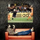 Andres Iniesta Winning Goal Final Football Huge 47x35 Print POSTER